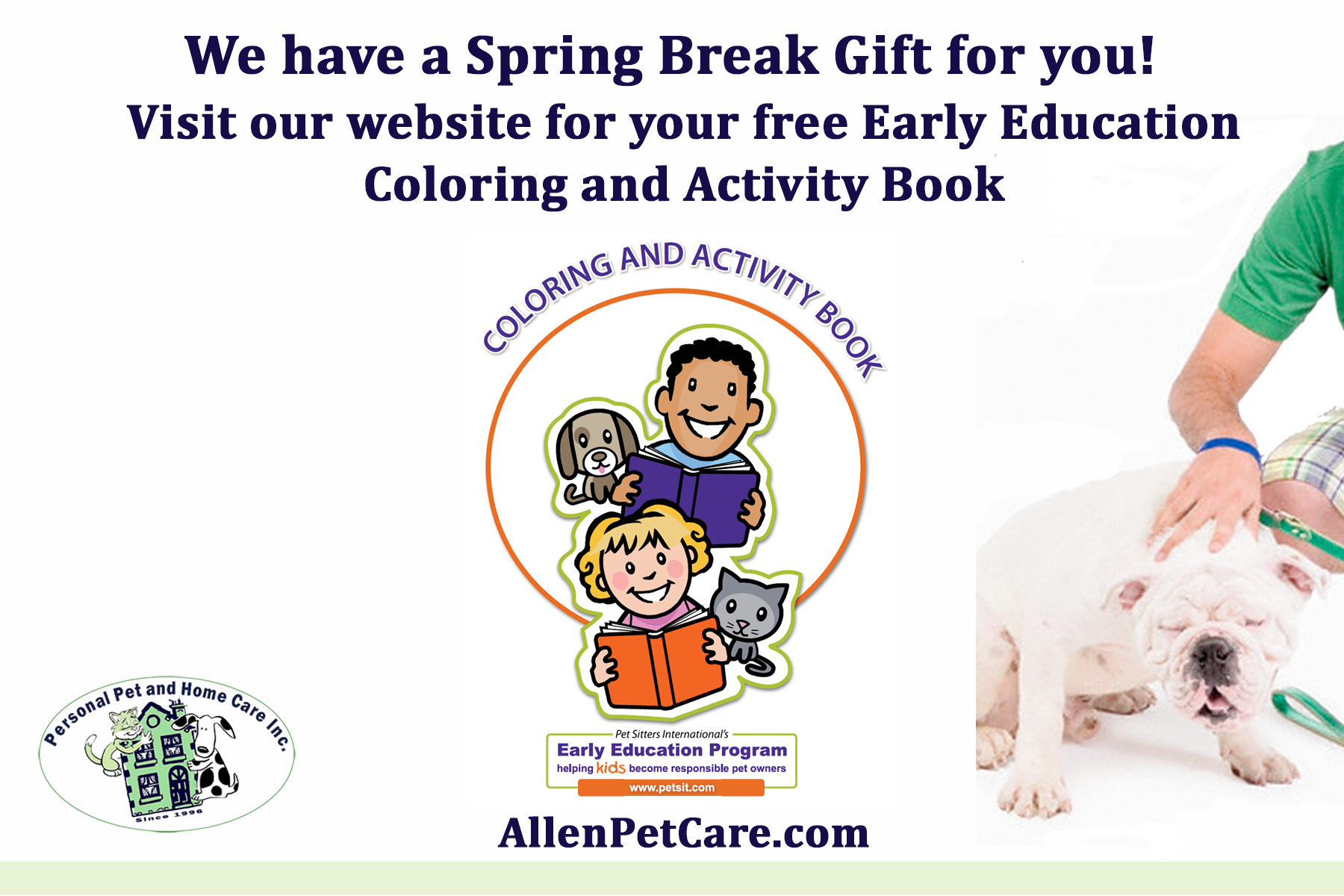 Activity Book from AllenPetCare.com