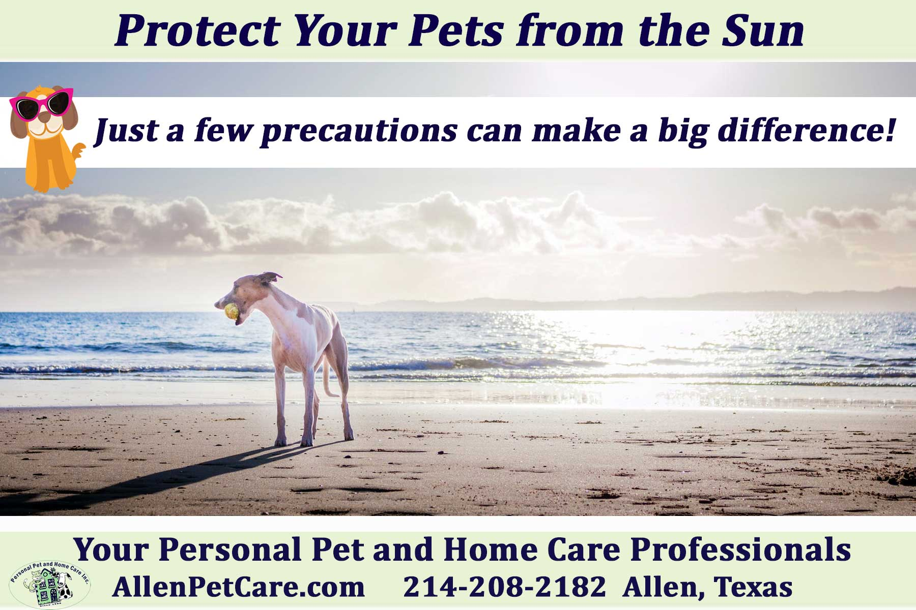Heat and Sun Care for Pets